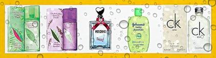 perfumes verão
