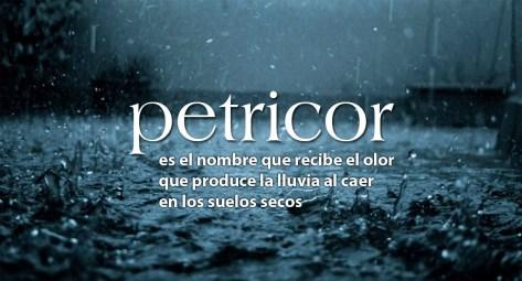 petricor